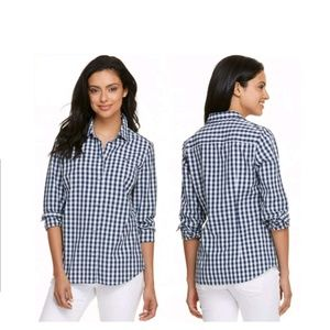 Vineyard Vines Women's Gingham Button Down Shirt
